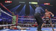 Manny Pacquiao, after the near-perfect punch that laid him out