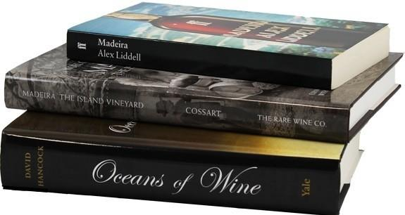 Three classic works on Madeira available now from the Rare Wine Co. in Sonoma