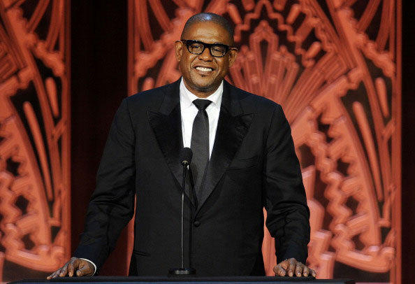 Actor Forest Whitaker speaks onstage at the 39th AFI Life Achievement Award honoring Morgan Freeman held at Sony Pictures Studios on June 9, 2011 in Culver City, California.