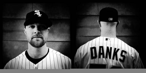 Chicago White Sox' John Danks during Spring Training in Glendale, Arizona.