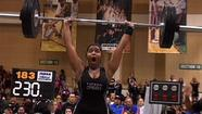 Kjayla Martin's father could sense the pressure on his daughter before the FHSAA girls weightlifting state meet.