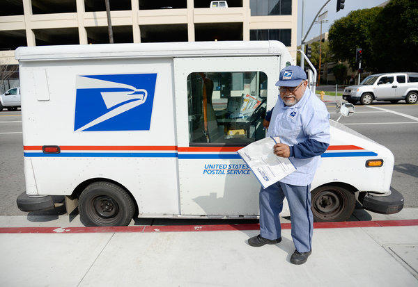 "The cutting edge of fashion? The U.S. Postal Service plans to launch a clothing line called ""Rain Heat & Snow."""