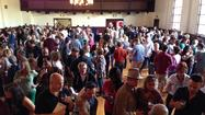 "Saturday's first ever <a href=""http://californiagaragistes.com"">the Garagiste Festival: Southern Exposure</a> in Solvang featuring the wines of small ""garagiste"" producers from the Santa Ynez Valley was a sold-out event. Held at the Mission-style Veteran's Memorial Building in Solvang, it was exuberant, crowded — and fun."