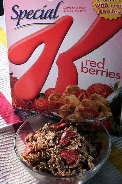 Kellogg's has recalled some packages of Special K Red Berries cereal.