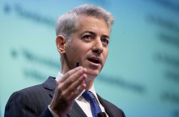 Hedge fund manager Bill Ackman.