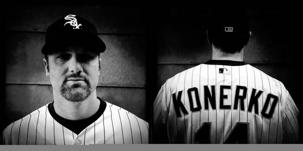 Chicago White Sox' Paul Konerko during Spring Training in Glendale, Arizona.
