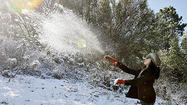 Photo Gallery: Cold storm leaves snow behind