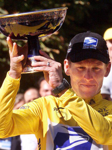 Lance Armstrong wins 1999 Tour de France