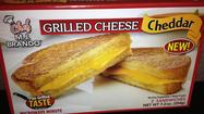 "<span style=""font-size: x-small;"">I was offered a product to try recently: Chef M.J. Brando microwaveable grilled cheese.</span>"
