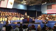 President Barack Hussein Obama came to Chicago last Friday to give a speech at Hyde Park Academy on the South Side, and I went to write about it.