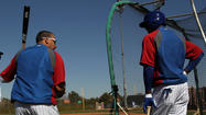 MESA, Ariz. -- Baseball America listed four Cubs in its Top 100 prospects list, an indication the organization is showing progress in its rebuilding plan.