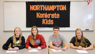 Northampton High School Signing Ceremony
