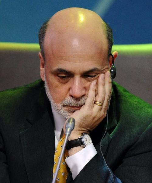 Federal Reserve Chairman Ben S. Bernanke at a meeting of Group of 20 finance ministers and central bankers in Moscow last week.