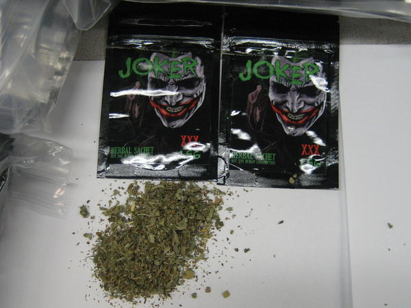 Synthetic cannabis seized by Chicago police.