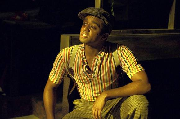 "David Little has been nominated for Outstanding Supporting Actor for his role in Toby's ""The Color Purple."""