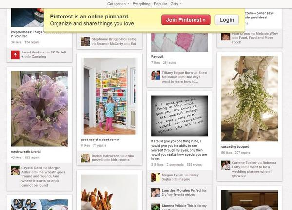 San Francisco start-up Pinterest has reportedly secured $200 million in funding, which raises the company's value to $2.5 billion.