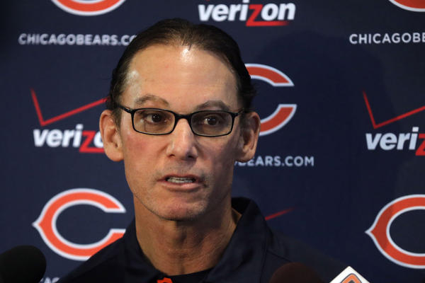 Bears coach Marc Trestman.