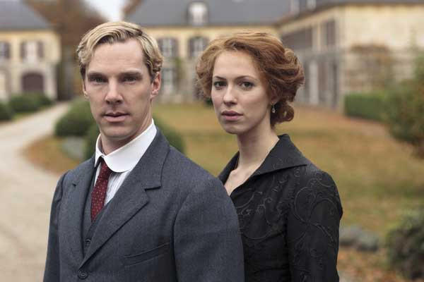 "Benedict Cumberbatch and Rebecca Hall star in the new miniseries ""Parade's End"" on HBO."