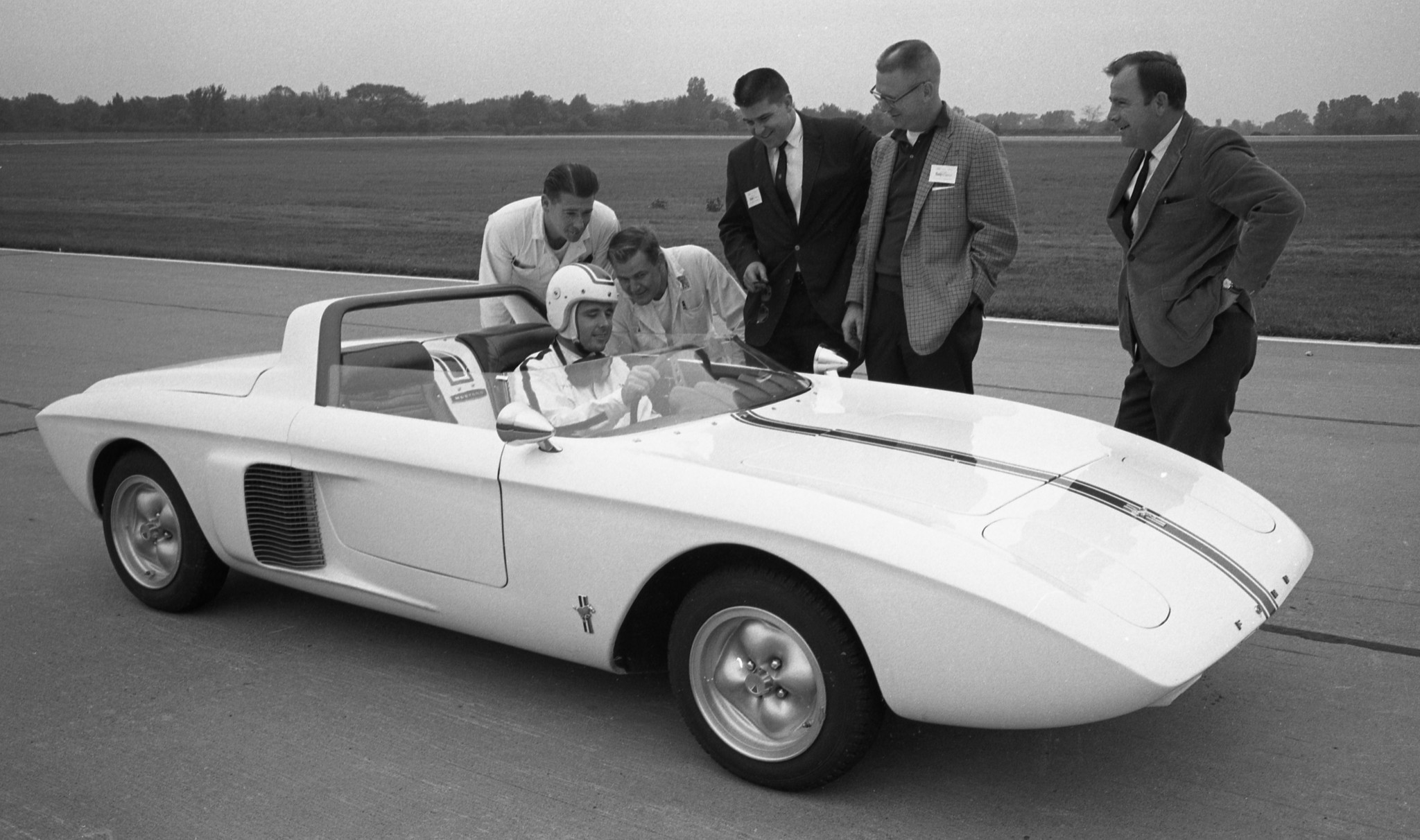 1962 Ford Mustang Concept Car La Times