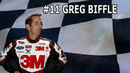 Greg Biffle lead the points for a big chunk of the regular season in 2012, he even won two races. But he never really seemed like much of a player once the chase started. And even though he finished above guys like Denny Hamlin and Matt Kenseth in the year end standings, he didn't feel to be as big a threat to win the title.