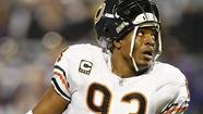 Former Chicago Bears defensive end Adewale Ogunleye has been hit for a loss on his 3,560-square-foot house in Vernon Hills, selling it Jan. 31 for $532,450.