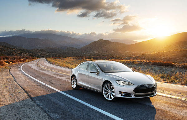 Tesla plans to ramp up the introduction of its Model S.