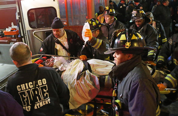 Person rescued from Red Line tracks