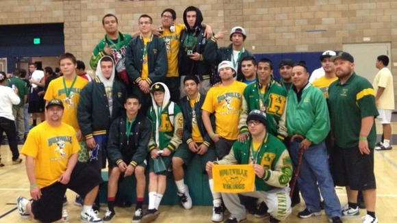 The Holtville High wrestling team