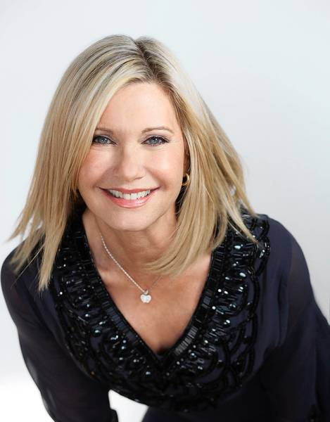 Singer Olivia Newton-John performs at Easton's State Theatre on Feb 21.