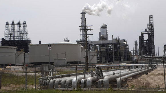 Exxon Mobil operates this 238,600 barrel-per-day refinery in Joliet. (Tribune file)