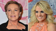 "<span style=""font-size: small;"">Carrie Underwood has found a new way to spread music to fans, as she will be playing the iconic ""Maria Von Trapp,"" in NBC's live broadcast of The Sound of Music. Julie Andrews played the legendary role in the famous 1965 film, and she is someone Carrie idolized at a young age. Carrie has yet to meet Julie, but she hopes to take what she has learned from her, and create her own vision of the character. ""At some point I would love to meet her, just because she is someone I grew up watching and listening too. But, no one can touch her, I am not her and I will never be her. She holds such an iconic place in so many people's hearts. I think it is really important for me to read the script, watch other musicals and kind of get into the whole musical space verses the movie space – which she was so wonderful in."" In a recent interview with the Wall Street Journal, Julie says she will ""endorse everything"" about The Sound of Music broadcast, and ""would love to know Carrie!"" The three-hour live remake of The Sound of Music will air in late 2013 on NBC.</span>"