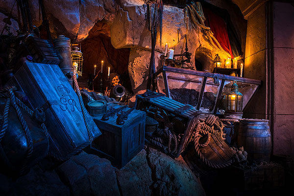The Legend of Captain Jack Sparrow is a new attraction at Disney's Hollywood Studios.