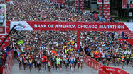 2012 Chicago Marathon start