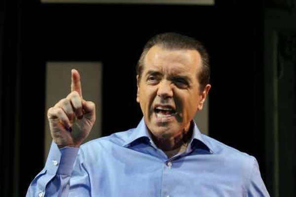 "Chazz Palminteri in the 2007 revival of ""A Bronx Tale."""