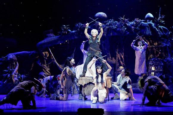 "The touring production of ""Peter Pan"" was recently at the Cadillac Palace Theatre in Chicago."