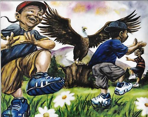 """Through the Eyes of the Eagle"" is a free children's exhibit at the Virginia Living Museum in Newport News. It will run Feb. 23 through April 28."
