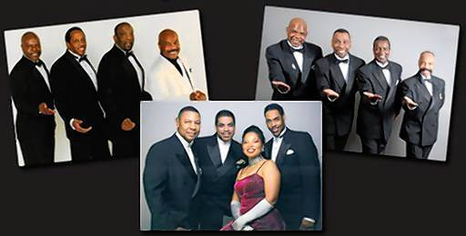 Corneil Gunter's Coasters, Bobby Hendricks Drifters and The Platters will be part of a doo-wop tribute concert at Ferguson Center for the Arts on Feb. 22, 2013.