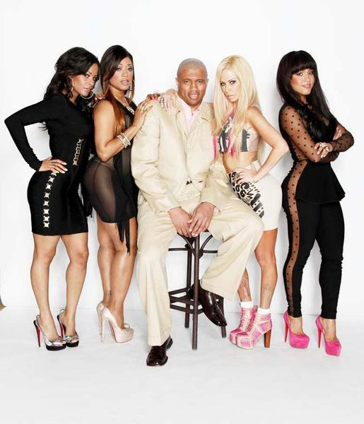 """Comedy After Dark"" is going from YouTube to Comedy Central. Above, the show's producer, Walter Latham, center, with hosts, from left, Carolina Catalino, Trina, Jenna Jameson and Rosa Acosta."
