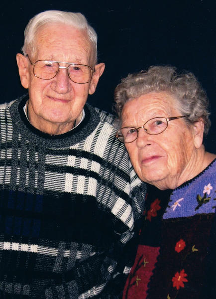 The Buhrmans have been married 70 years