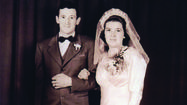 The Buhrmans were married Feb. 14, 1943.