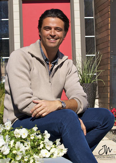 John Gidding, host of HGTV's Curb Appeal.