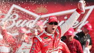 DAYTONA BEACH – Kyle Busch and Kevin Harvick both found victory lane during Thursday's Budweiser Duel at Daytona International Speedway.