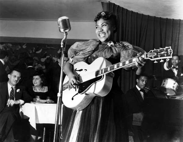 "Gospel kreat Sister Rosetta Tharpe, one of the unsung progenitors of rock and roll, is profiled on a new ""American Masters"" at 9 p.m. on KOCE."