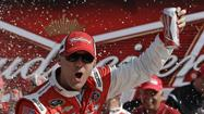 DAYTONA BEACH, Fla. -- Kevin Harvick led 23 of the 60 laps to capture the first race in Thursday's Budweiser Duel at Daytona International Speedway.