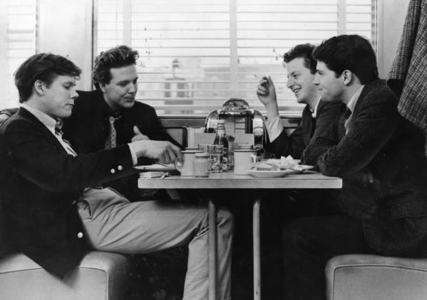 "I'm going to go with an unconventional choice, 1982's Diner. Not a ""sports movie,"" per se, but a movie about the culture and mindset of sports fans. The movie takes place in 1959 Baltimore, around the time of the 1959 NFL championship between the Colts and Giants, with a story that centers around a young man who is forcing his fiancee to undergo a comprehensive football quiz. She must score a 60, I believe--otherwise the marriage is off.<br><br> His friends don't necessarily support his decision, but they definitely don't try to change his mind. In fact, they're all pretty excited to be present for the quiz, which they watch with an intensity only sports fans can muster.<br><br> --Jack Silverstein, RedEye contributor"