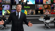 Alec Baldwin in ad for Hulu