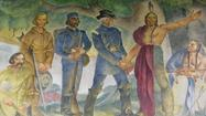 For 38 years, a 6-foot-by-20-foot mural sat rolled up in a local history teacher's home, an all-but-forgotten remnant of a Depression-era effort to bring art directly to the people.