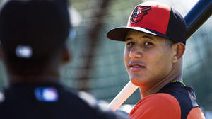 Manny Machado engaged to the sister of Padres' Yonder Alonso
