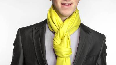 A scarf-tying tutorial for any season