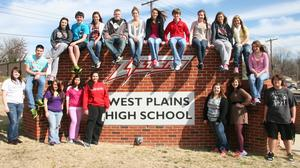 West Plains HS juniors get shoes from anonymous donors